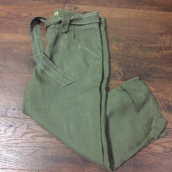 311d6bb0edded Old Navy Pants   Womens Size 6 Linen Capris   Poshmark